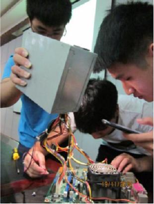 信息工程学院成功举办第三届计算机组装技能大赛