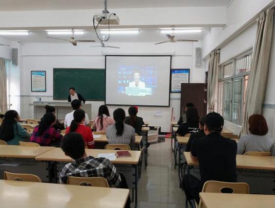 海南工商职业学院师生收听收看新闻媒体有关慕课专题系列报道的反馈