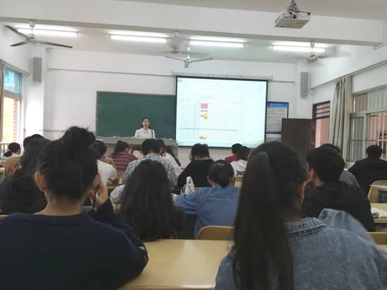 经济管理学院电商教研室举行教学公开课活动