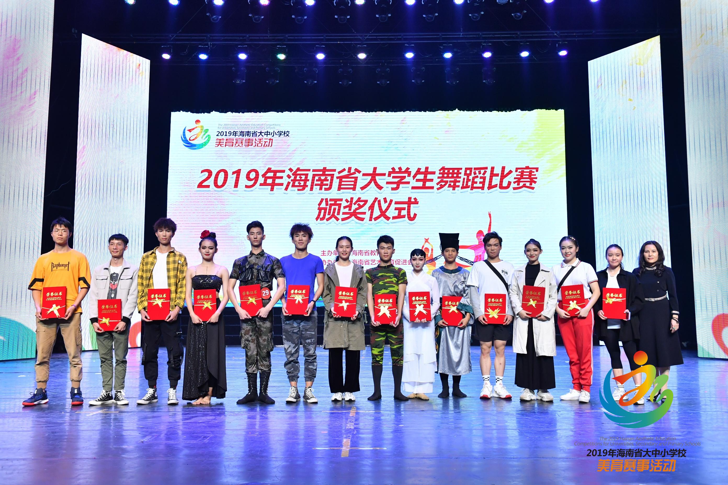 学院动态 旅游艺术学院舞蹈专业在全省大学生舞蹈比赛中斩获佳绩