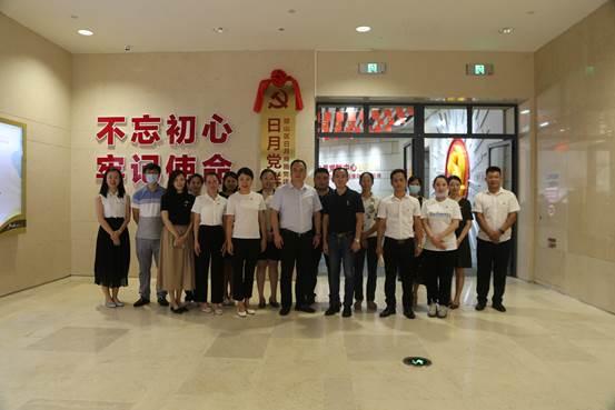 中共海南工商职业学院委员会赴日月党群中心开展学习交流活动