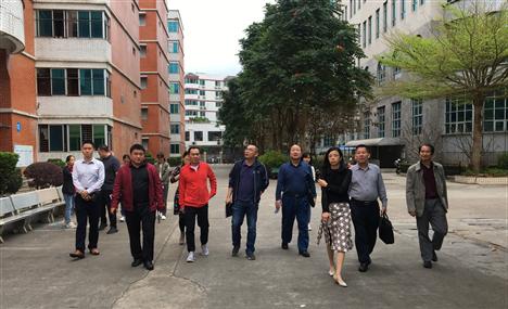 海南省教育厅2021年春季开学督导检查工作组到我校检查开学准备工作